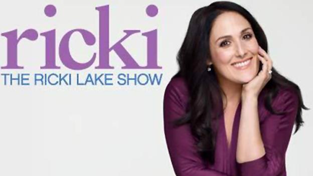 Ricki Lake Show banner