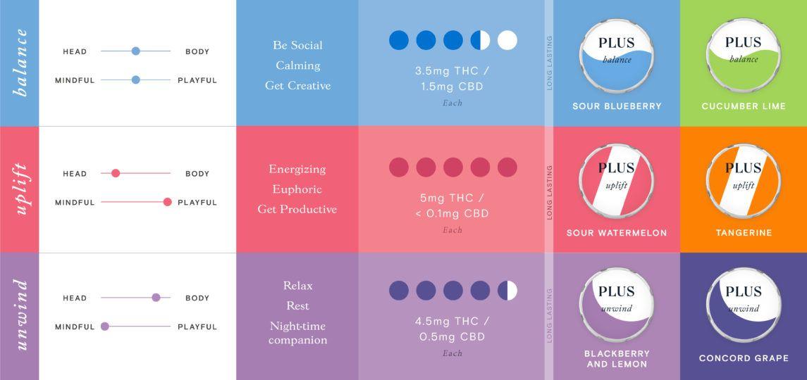PLUS Gummies Infographic