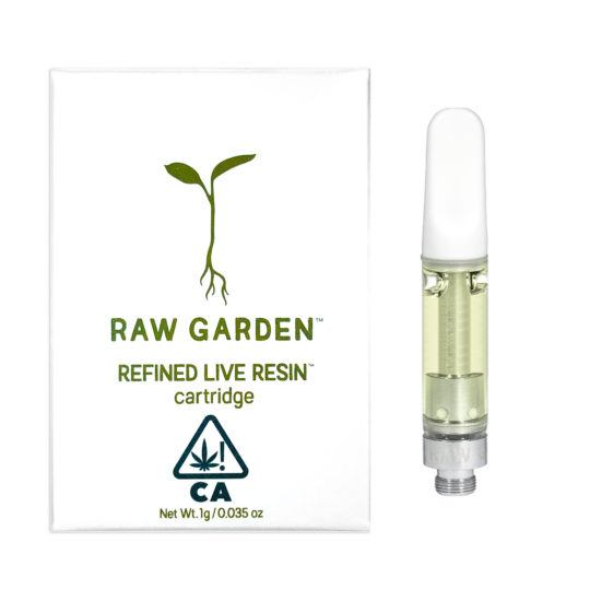 Raw Garden Cartridge (1g)