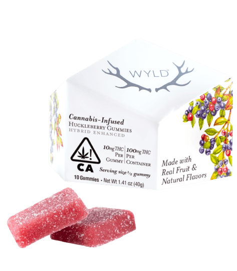 Wyld Huckleberry Gummies