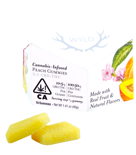 Wyld Peach Gummies