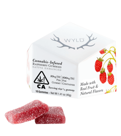 Wyld Raspberry Gummies