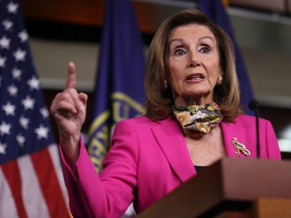 Speaker of the House, Nanci Pelosi