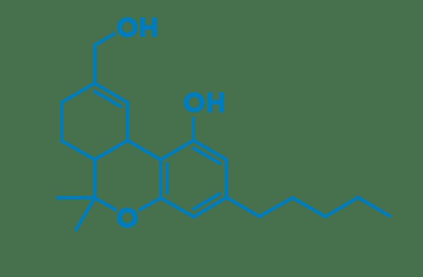 11OHTHC molecule