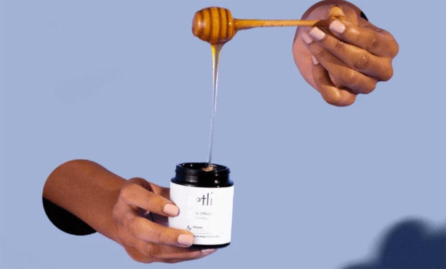 Potli cannabis infused honey SPARC Sonoma County cannabis dispensary